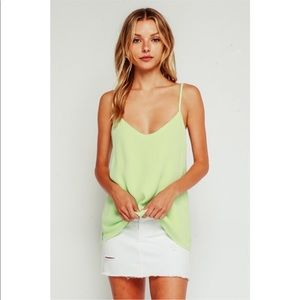 Necessity Cami - Neon Lime
